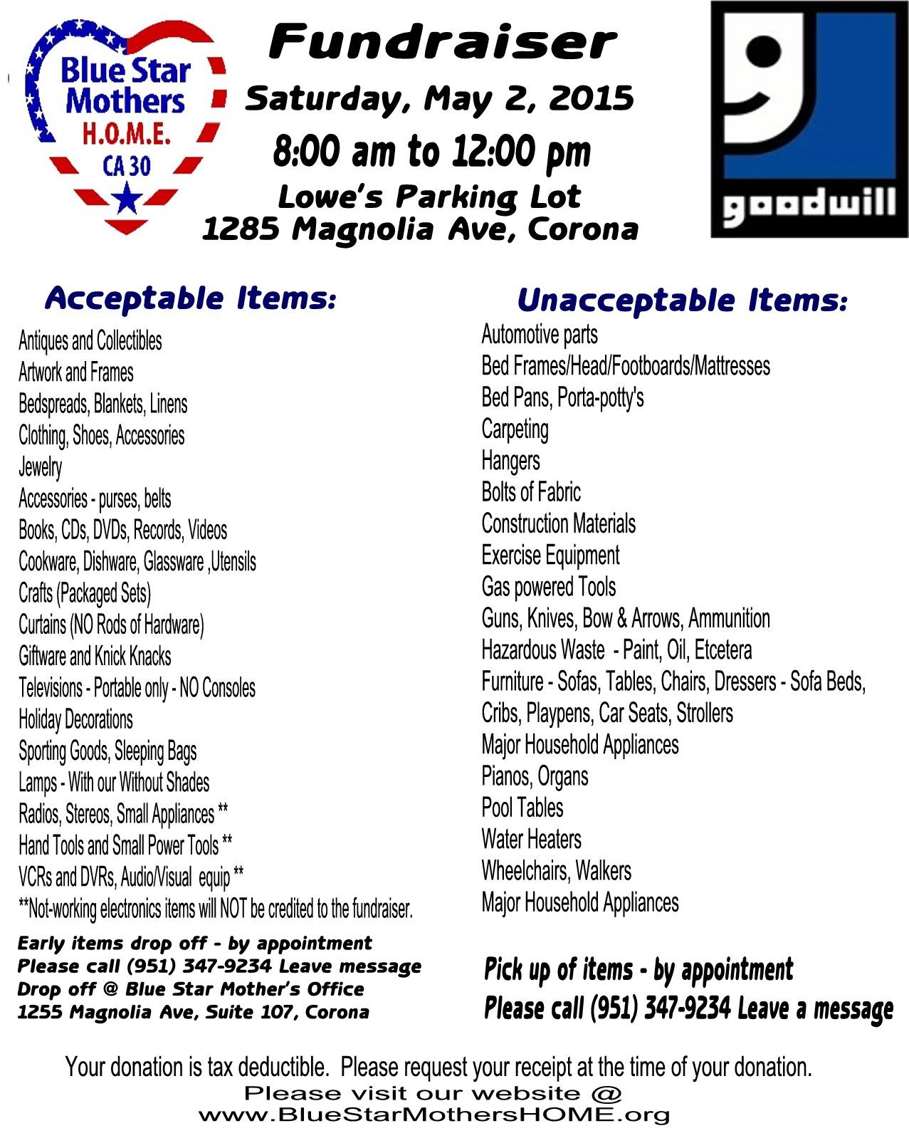 Goodwill Fundraiser